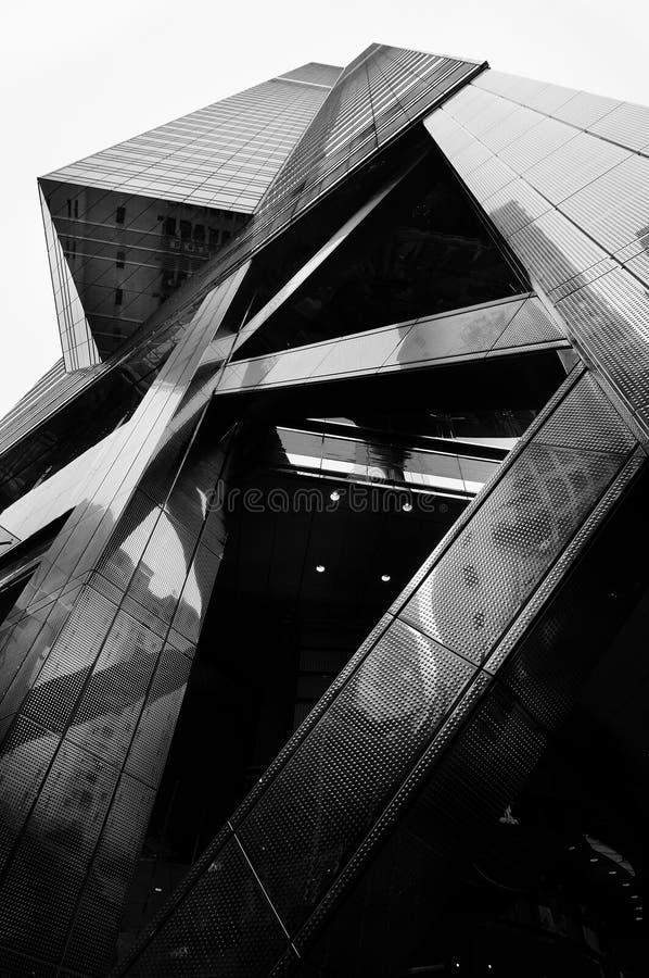 香港摩天大楼 免版税库存照片