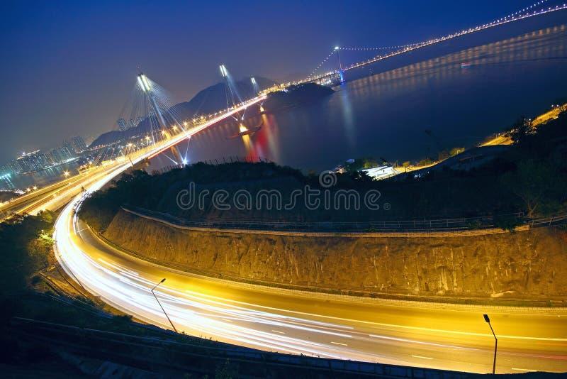 香港桥梁 免版税库存图片