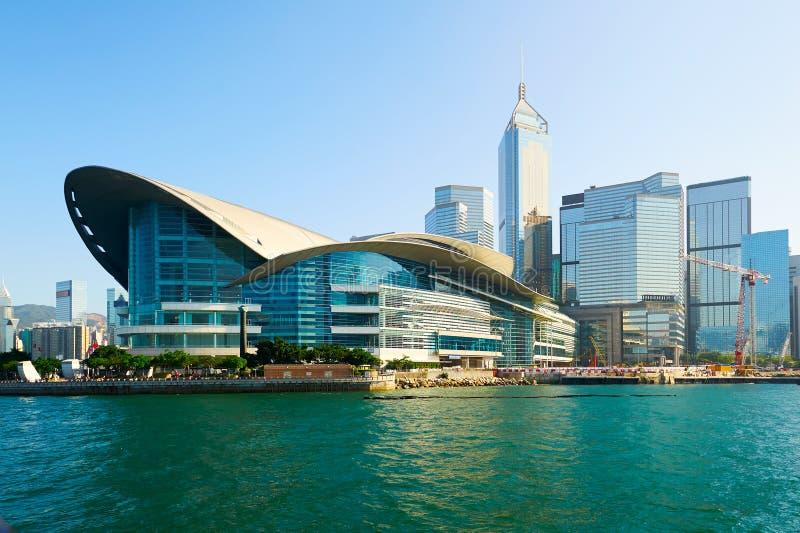 香港的会议中心 免版税图库摄影