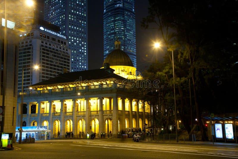 香港立法会大楼(老 免版税库存照片
