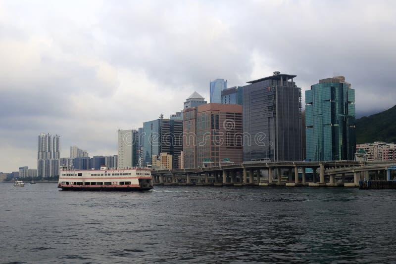 香港轮渡  免版税图库摄影