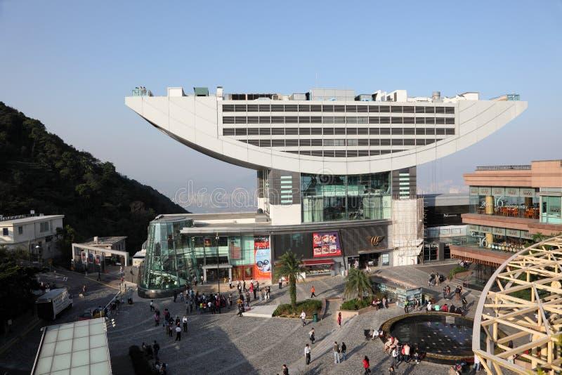 香港高峰塔 库存照片