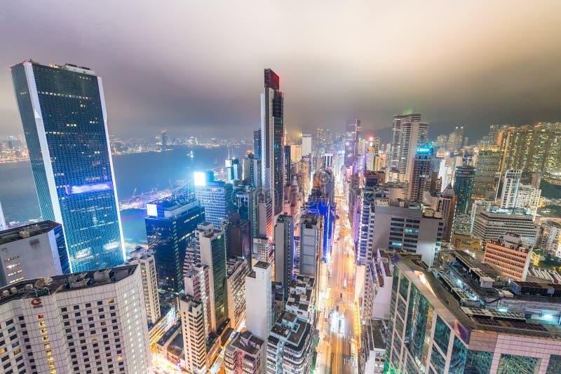 香港,中国美妙的地平线  库存图片