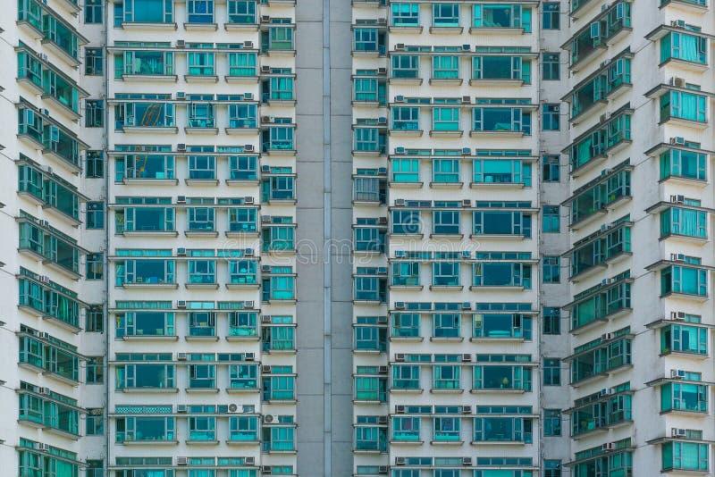 香港,中国- 2017年11月03日 一部分的公寓buildi 图库摄影