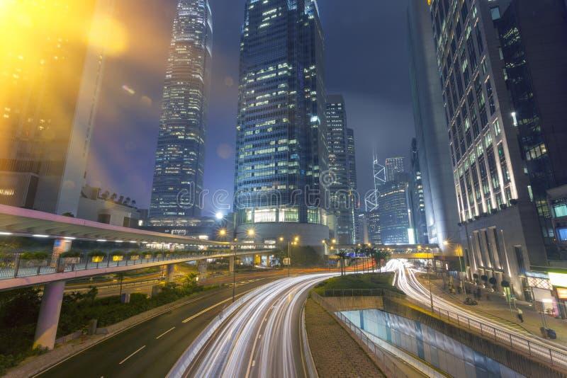 香港` s都市建筑学 库存图片