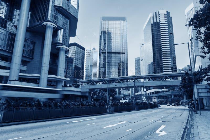 香港stree视图 免版税库存图片