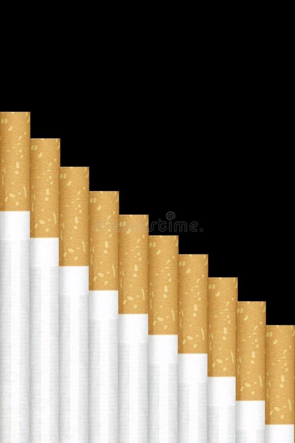 香烟楼梯 免版税库存图片