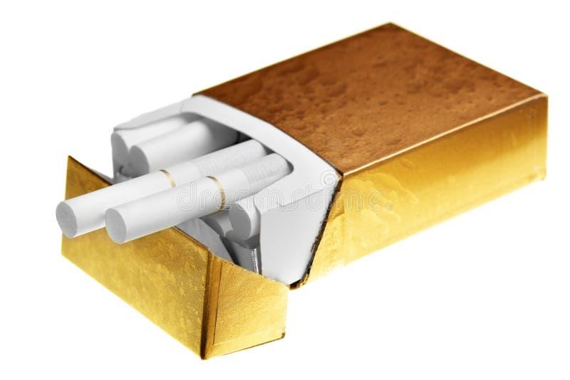 香烟装箱 免版税图库摄影