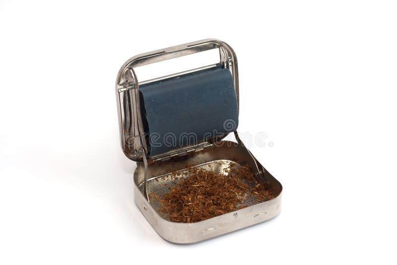 香烟滚轧机 免版税库存照片