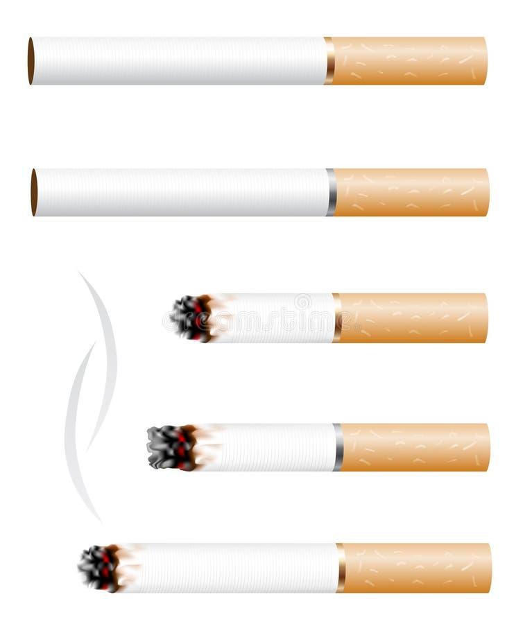 香烟 皇族释放例证