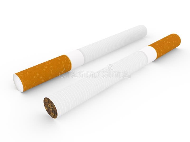 香烟 库存例证