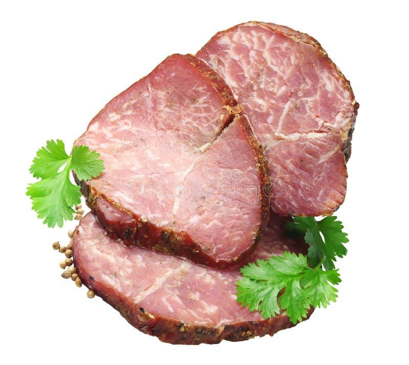 香菜肉饼 免版税库存照片