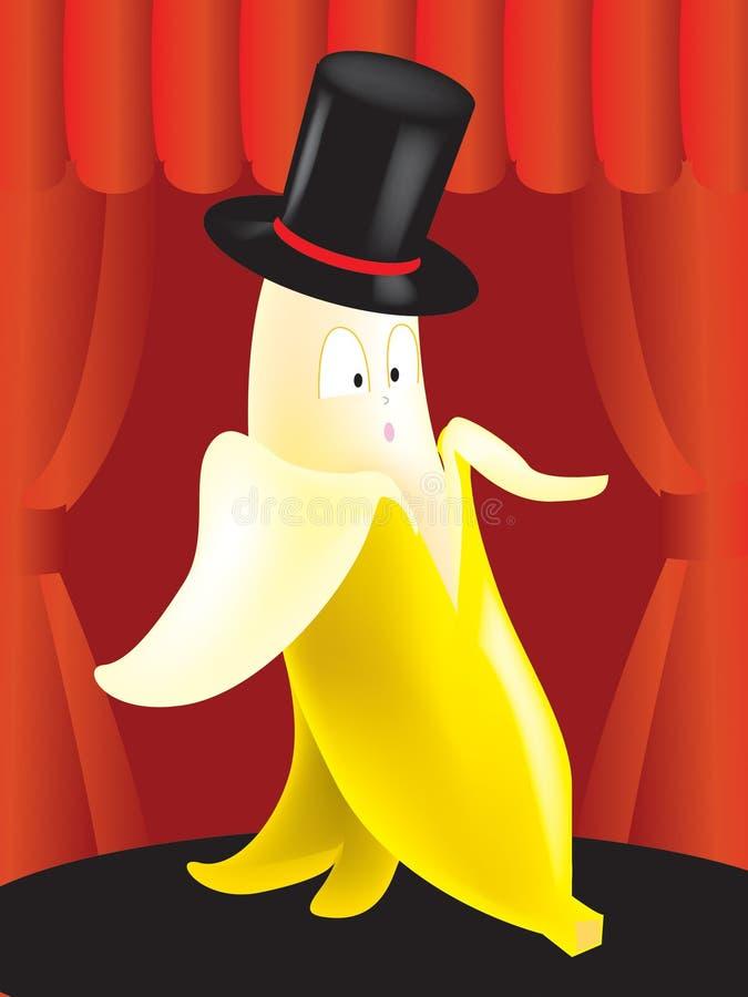 香蕉先生 免版税库存照片