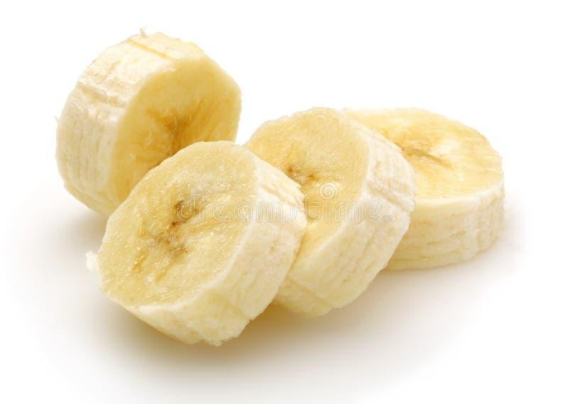 香蕉切了 库存图片