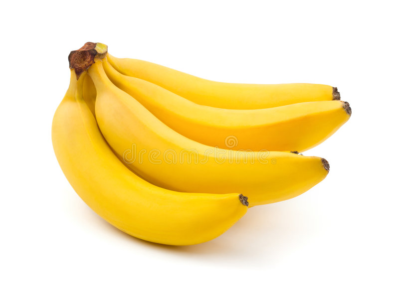 香蕉束 免版税图库摄影