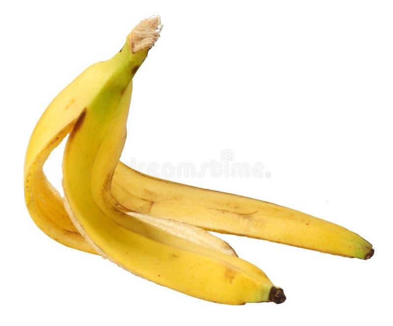 香蕉果皮 免版税库存照片