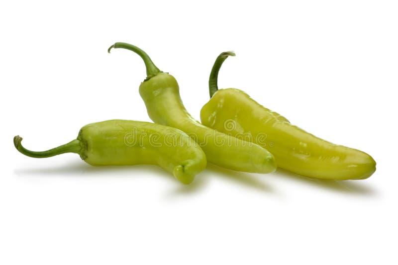 香蕉胡椒 免版税库存照片