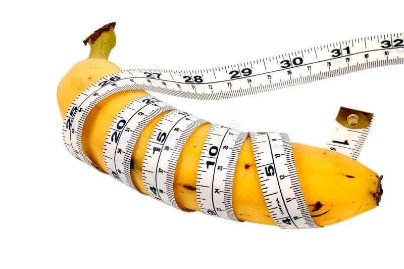 香蕉饮食 免版税库存图片