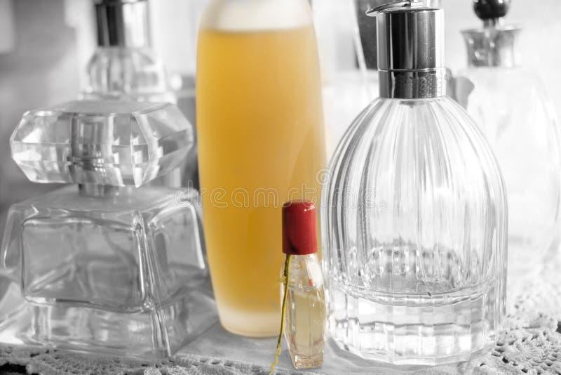 香水和魅力和呼吁 库存图片
