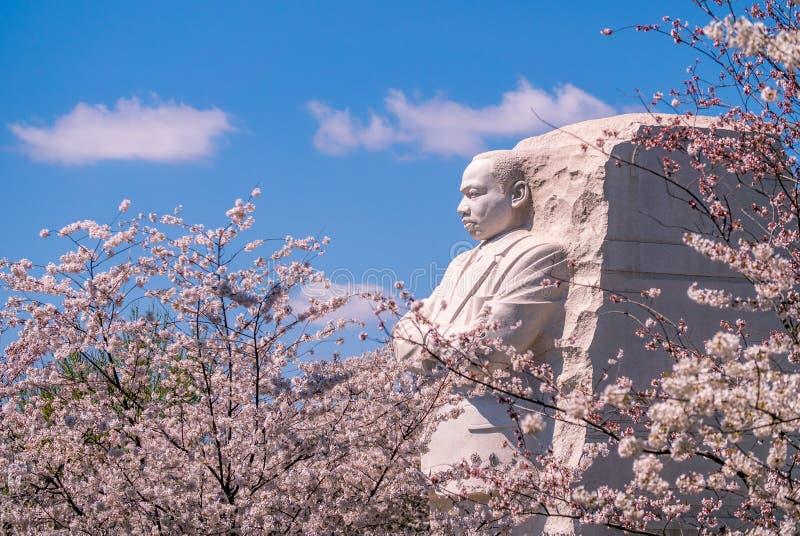 马丁路德金小辈纪念品在华盛顿D C ,美国 库存图片