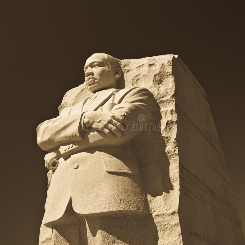 马丁Luther King雕象 库存照片