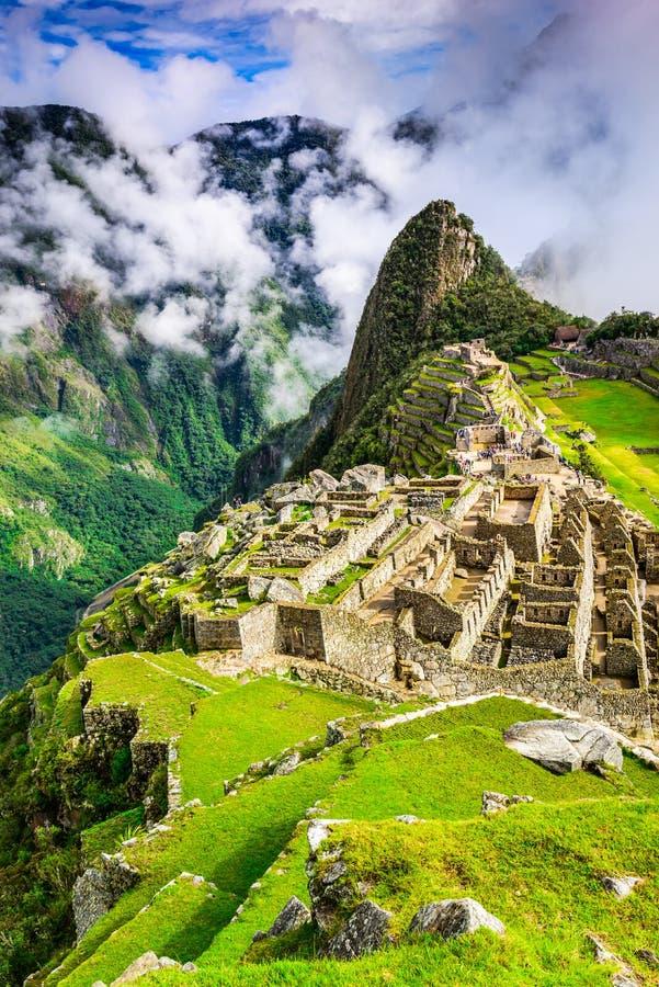 马丘比丘,库斯科-秘鲁 免版税库存图片