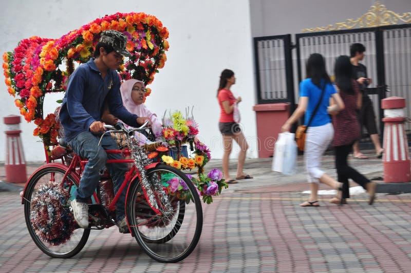 马六甲马来西亚旅游业 免版税库存照片