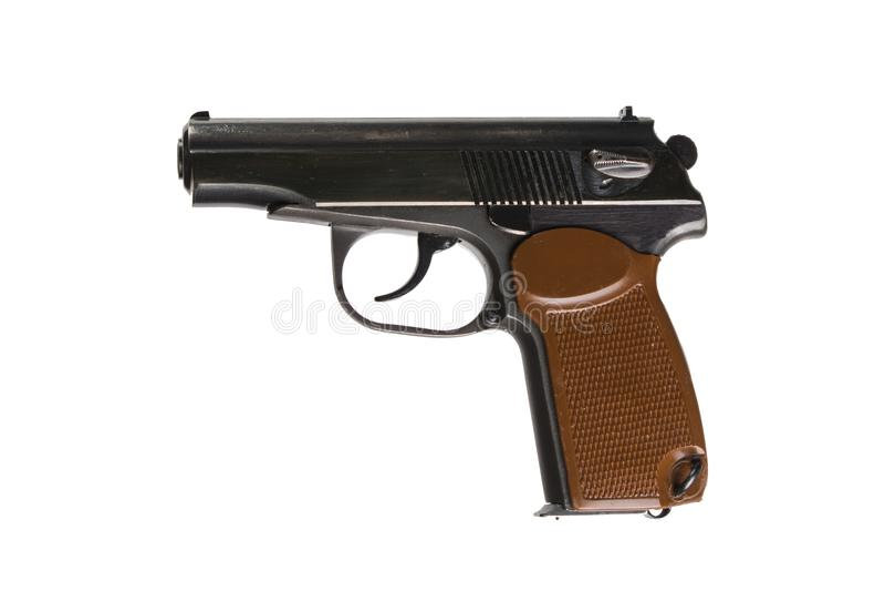 马卡罗夫手枪 库存图片