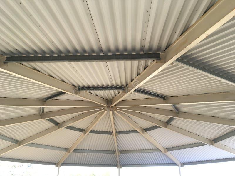 马厩圆的竞技场ceiling2 图库摄影
