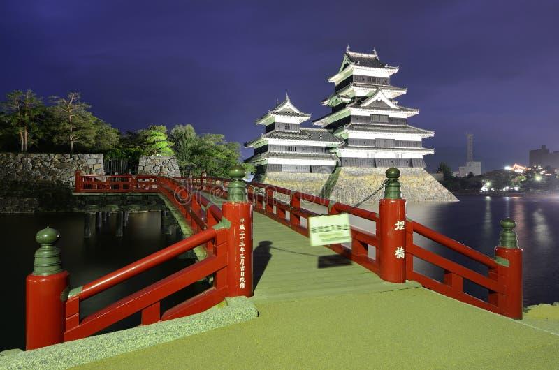 马塔莫罗斯城堡在马塔莫罗斯,日本 库存照片