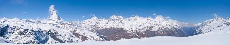 马塔角山脉雪 库存图片