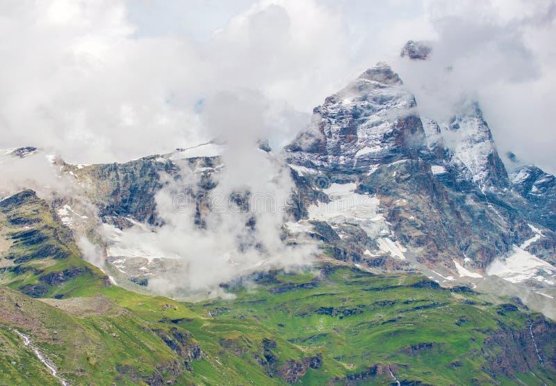 马塔角峰顶叶绿泥石阿尔卑斯 库存照片