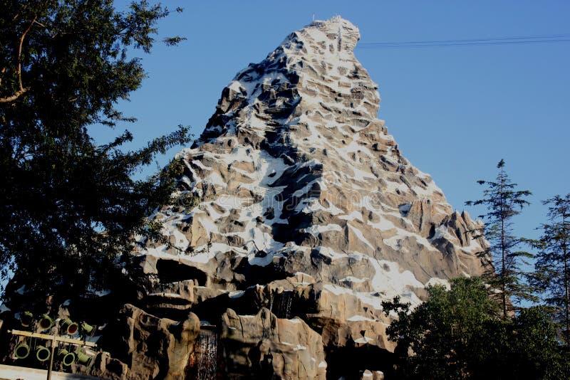 马塔角雪撬,迪斯尼乐园幻想世界,阿纳海姆,加利福尼亚 库存照片