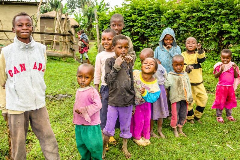 马塞人孩子坦桑尼亚 免版税库存照片