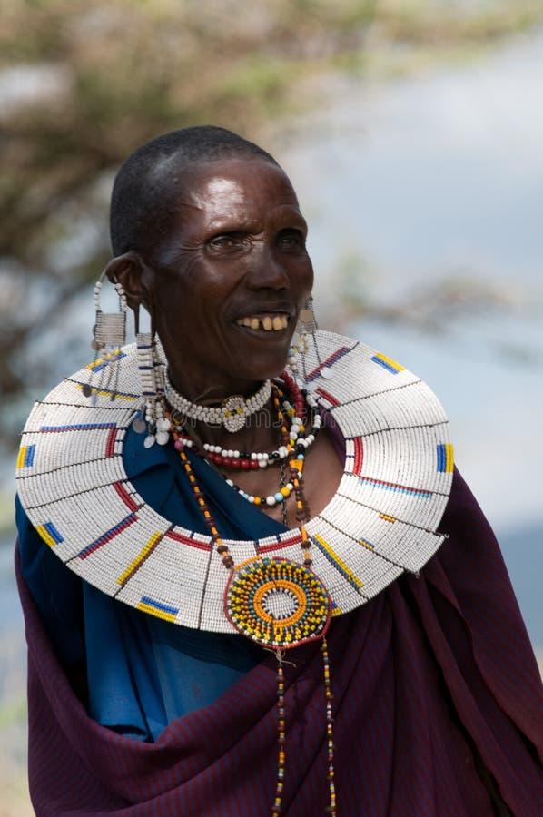 马塞语 免版税图库摄影