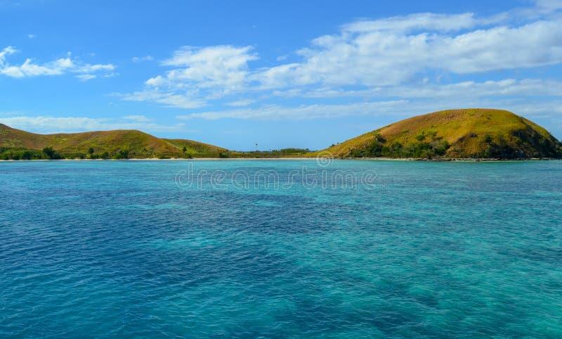 马娜海岛, Mamanucas,斐济 免版税库存图片