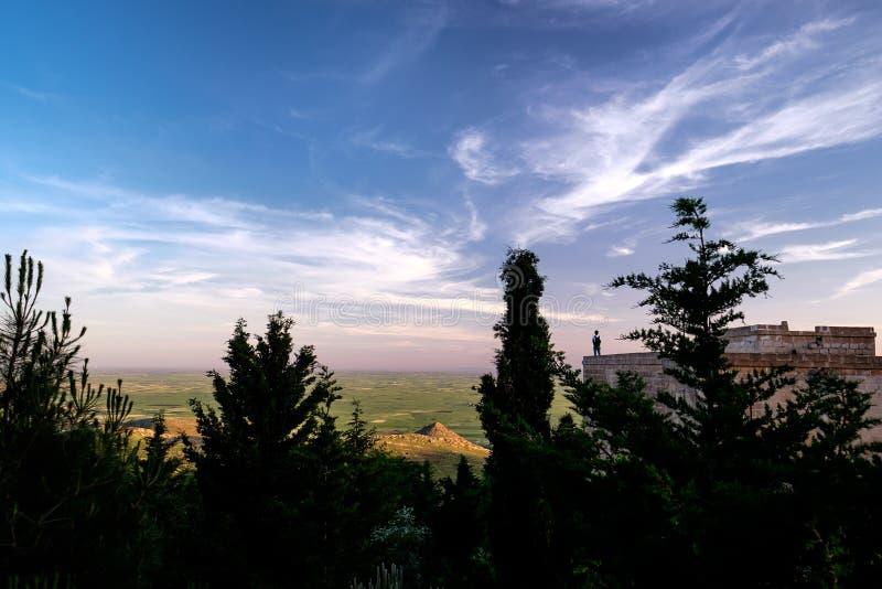 马尔丁风景在土耳其 免版税库存图片