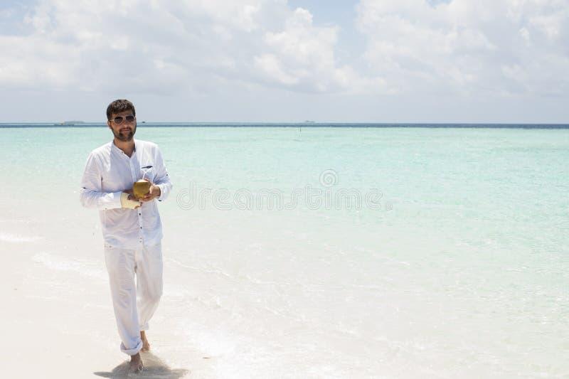 马尔代夫的系列 图库摄影
