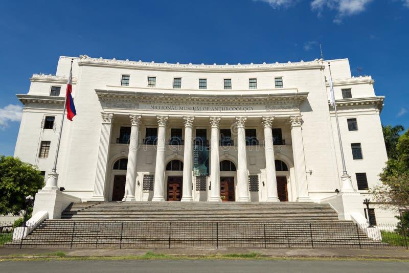 马尼拉人类学国家博物馆  免版税库存照片