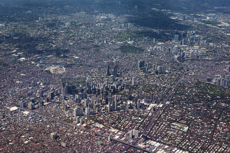 马尼拉大都会,菲律宾 免版税库存图片