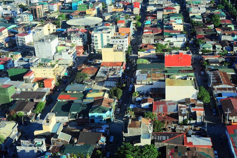 马尼拉贫民窟 免版税图库摄影