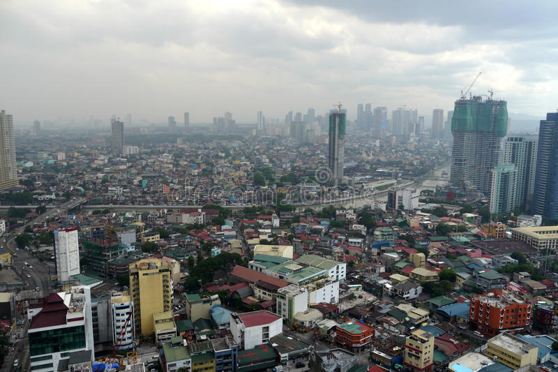 马尼拉,菲律宾 免版税图库摄影