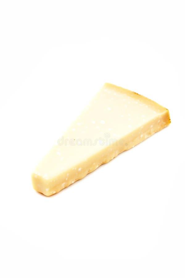 巴马干酪和搓碎干酪的片断 免版税库存图片
