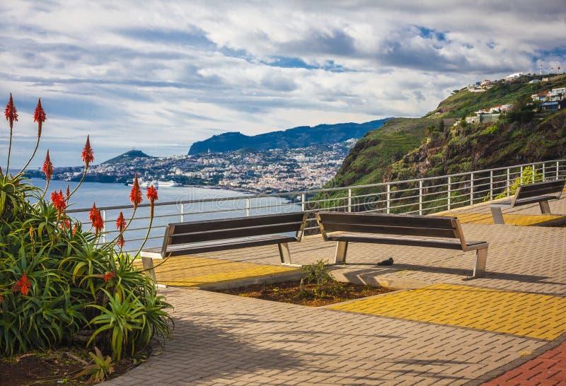 马德拉岛海岛,葡萄牙 图库摄影