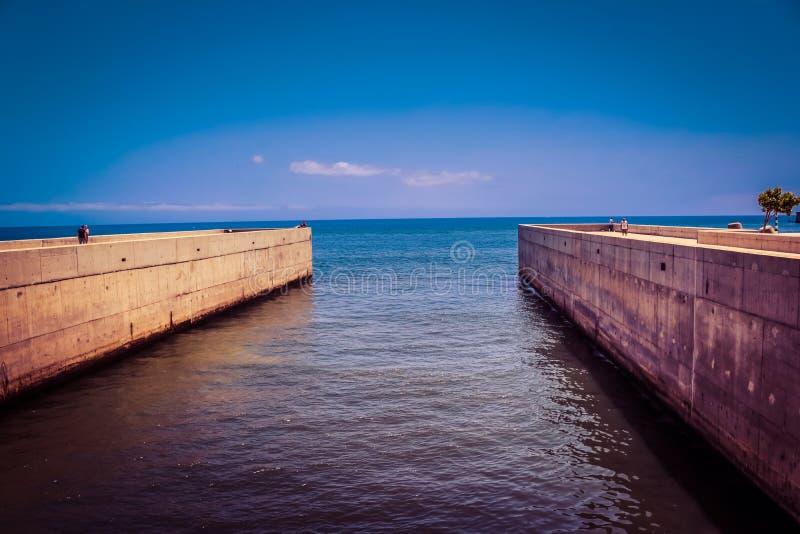 马德拉岛海 库存照片