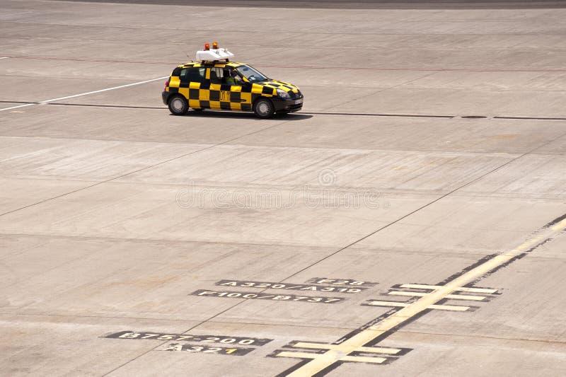 马德拉岛的机场 免版税库存图片