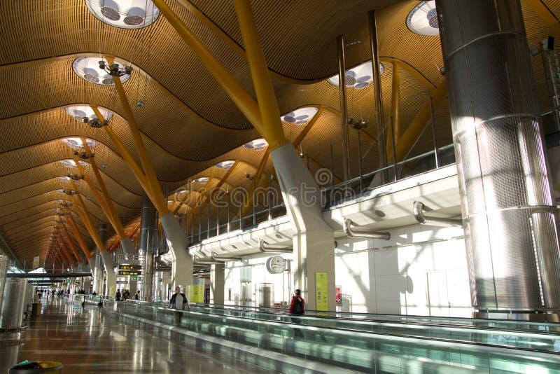 马德里机场 免版税图库摄影