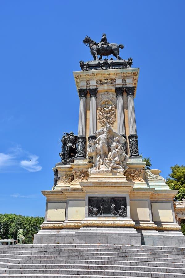 马德里西班牙 免版税库存照片