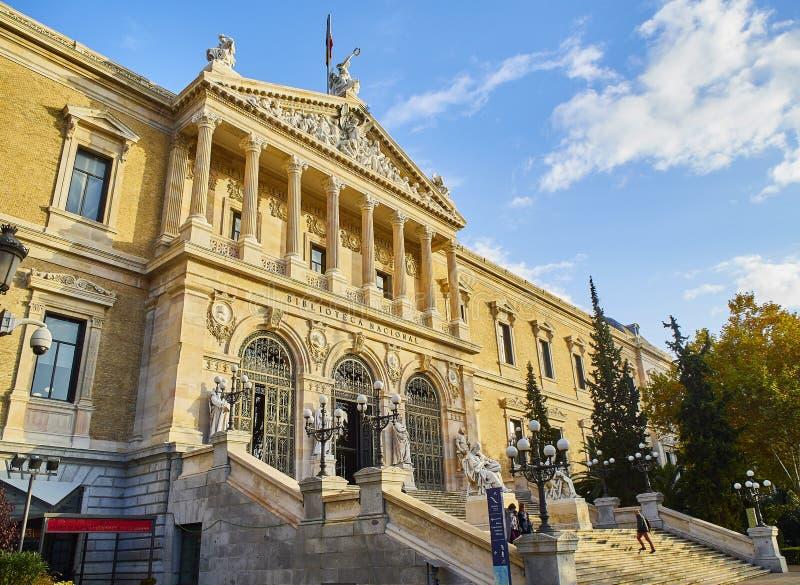 马德里雅典国家考古博物馆  西班牙 免版税库存照片