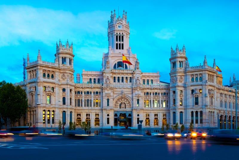 马德里,西班牙 免版税图库摄影
